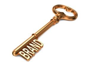 key to branding
